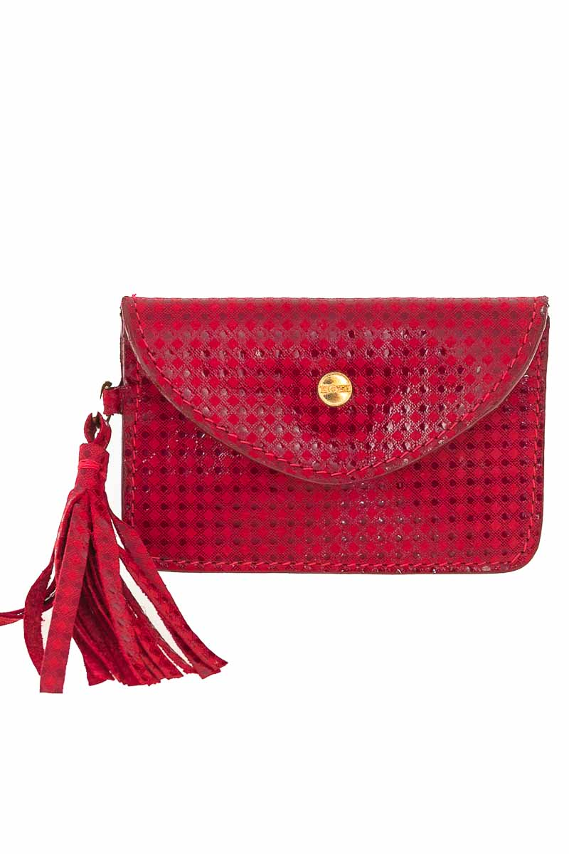 Cartera / Bolso / Monedero color Rojo - Bosi