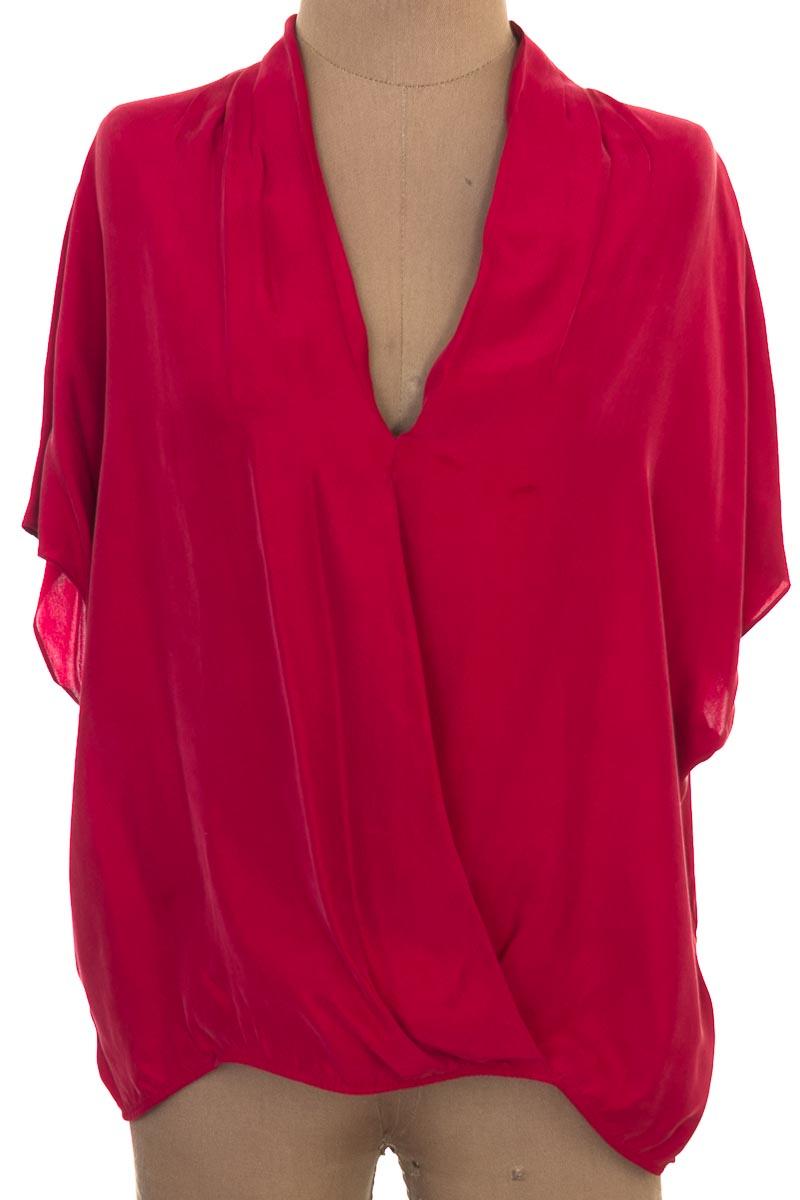Blusa color Rojo - Massimo Dutti