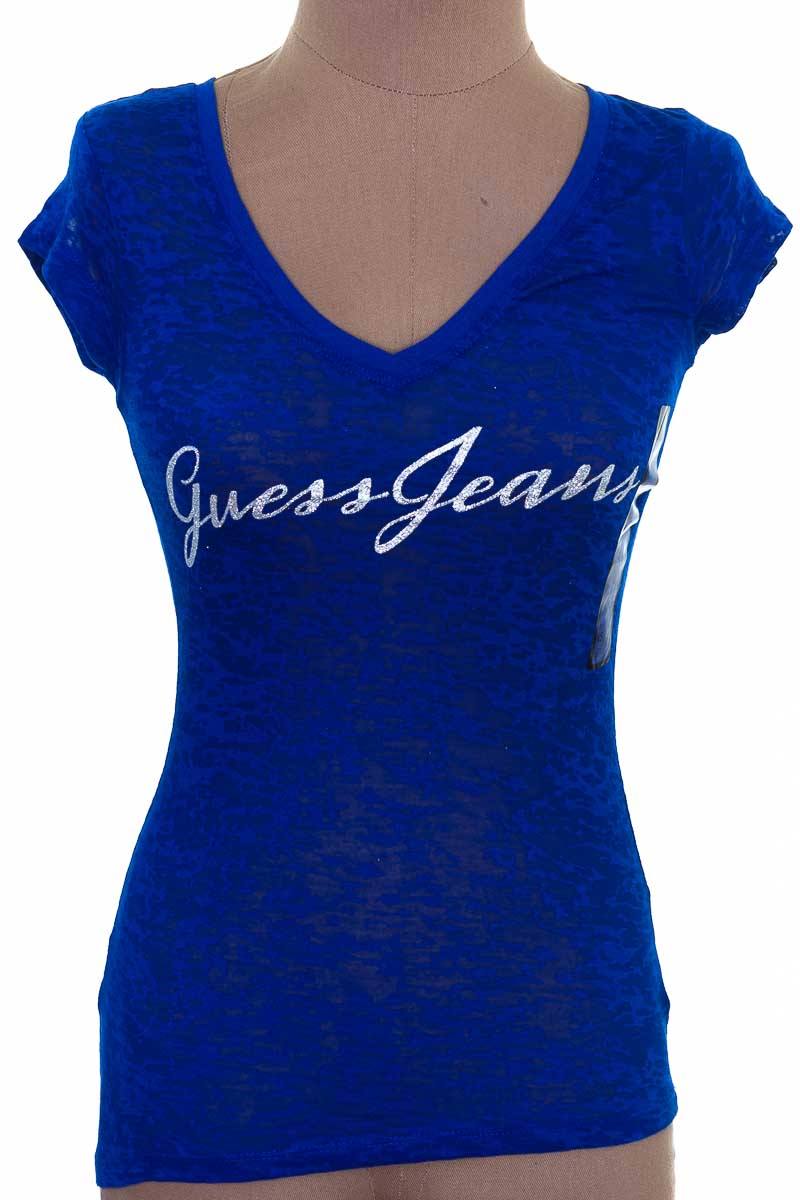 Top / Camiseta color Azul - Guess