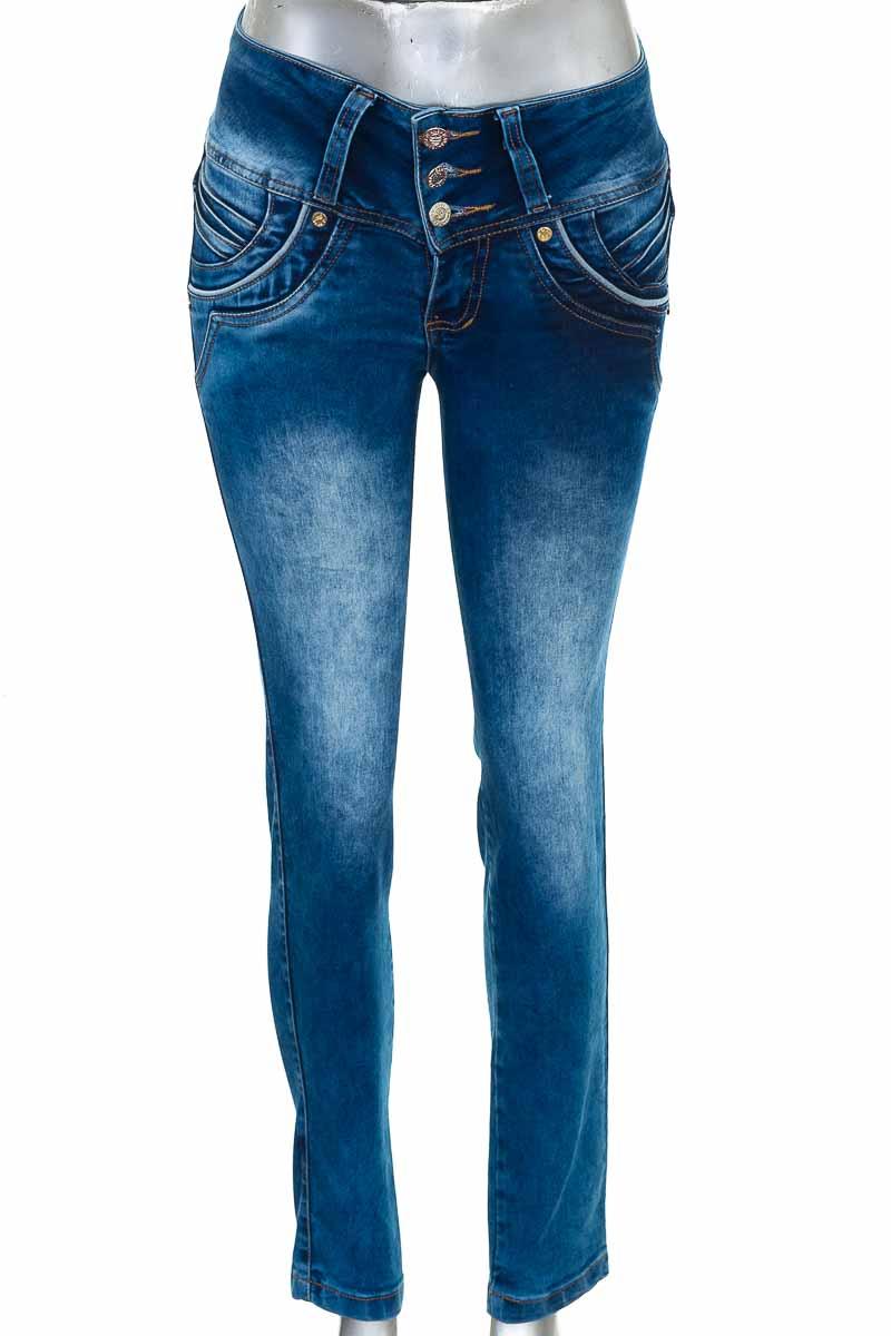 Pantalón color Azul - Original