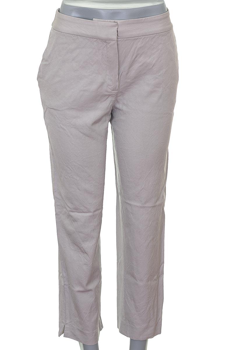 Pantalón Formal color Beige - Massimo Dutti