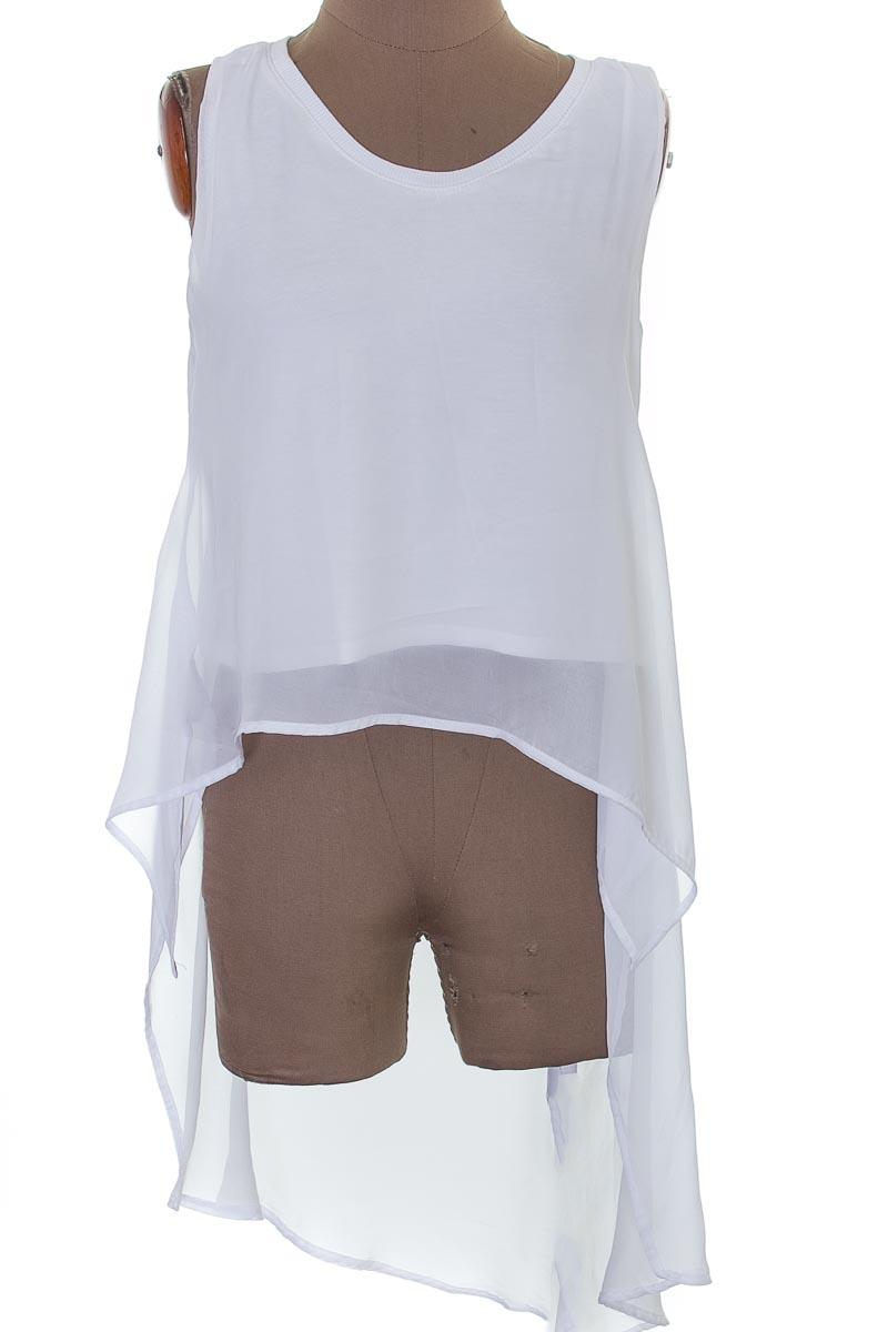 Blusa color Blanco - Denim Lab