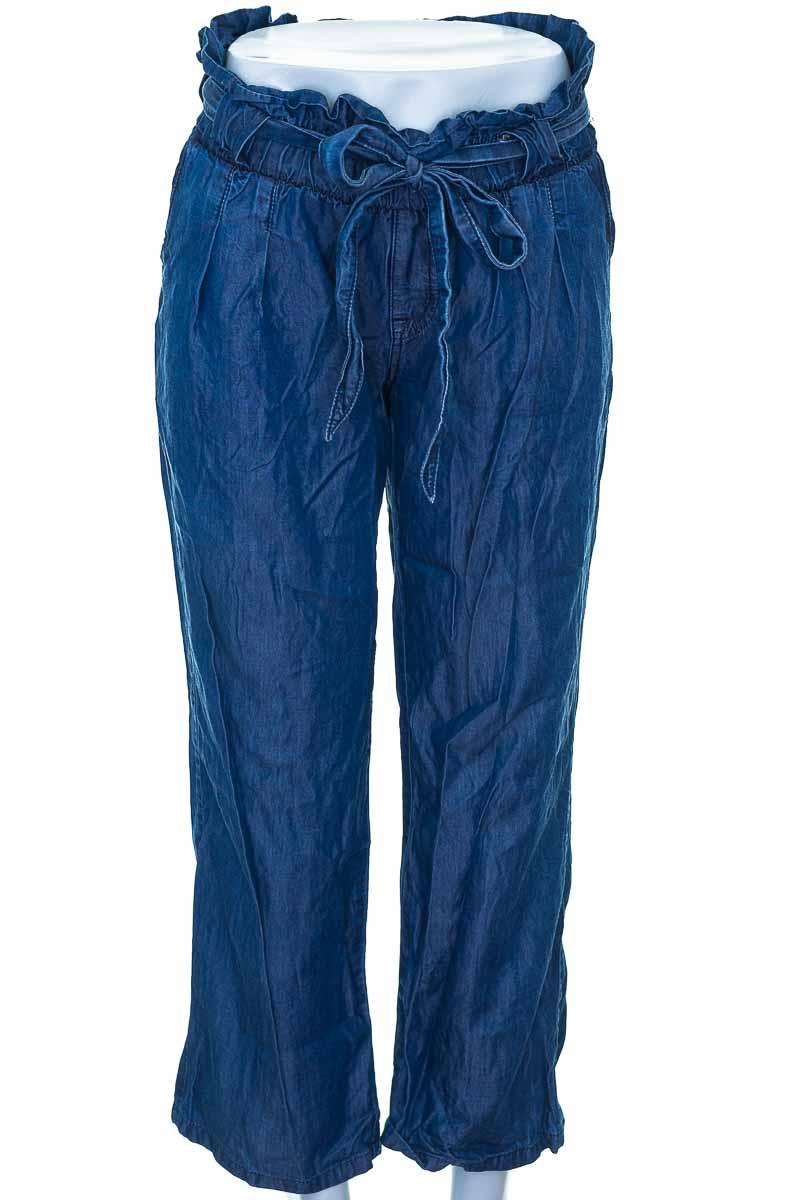 Falda Casual color Azul - Closeando