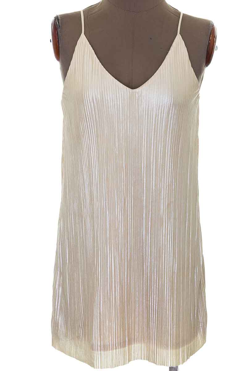 Vestido / Enterizo color Beige - One Clothing