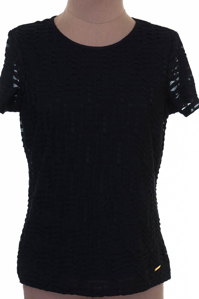 Top / Camiseta color Negro - Calvin Klein