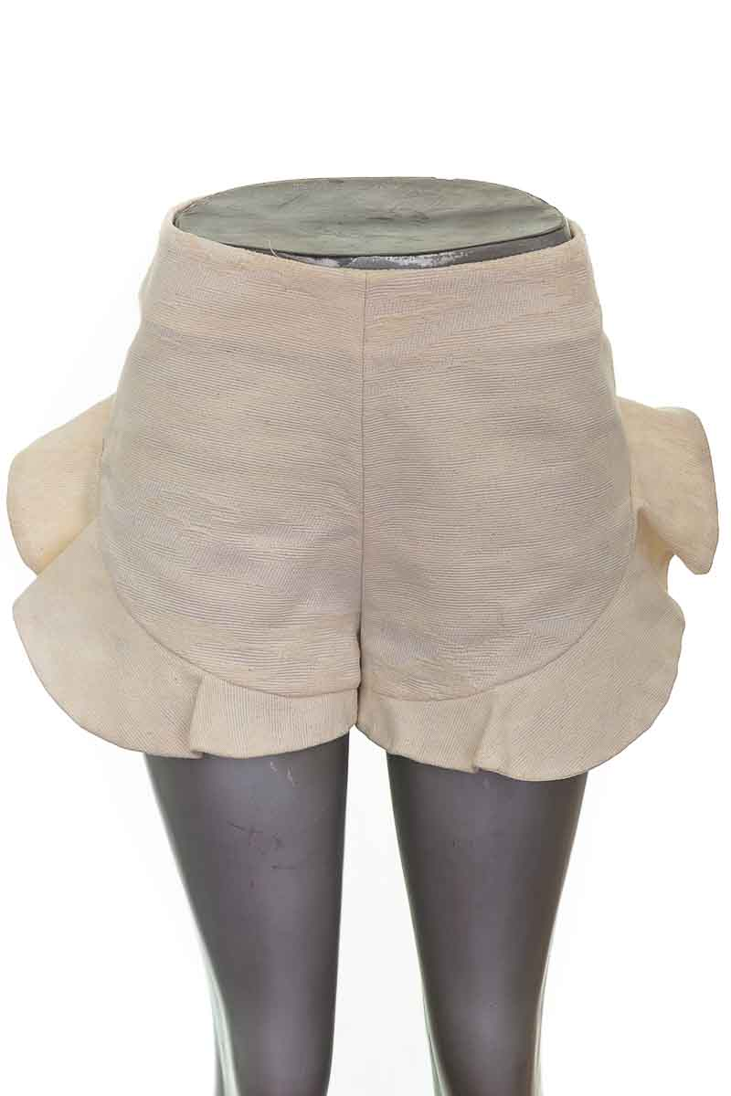 Short Casual color Beige - SILVER BLANK