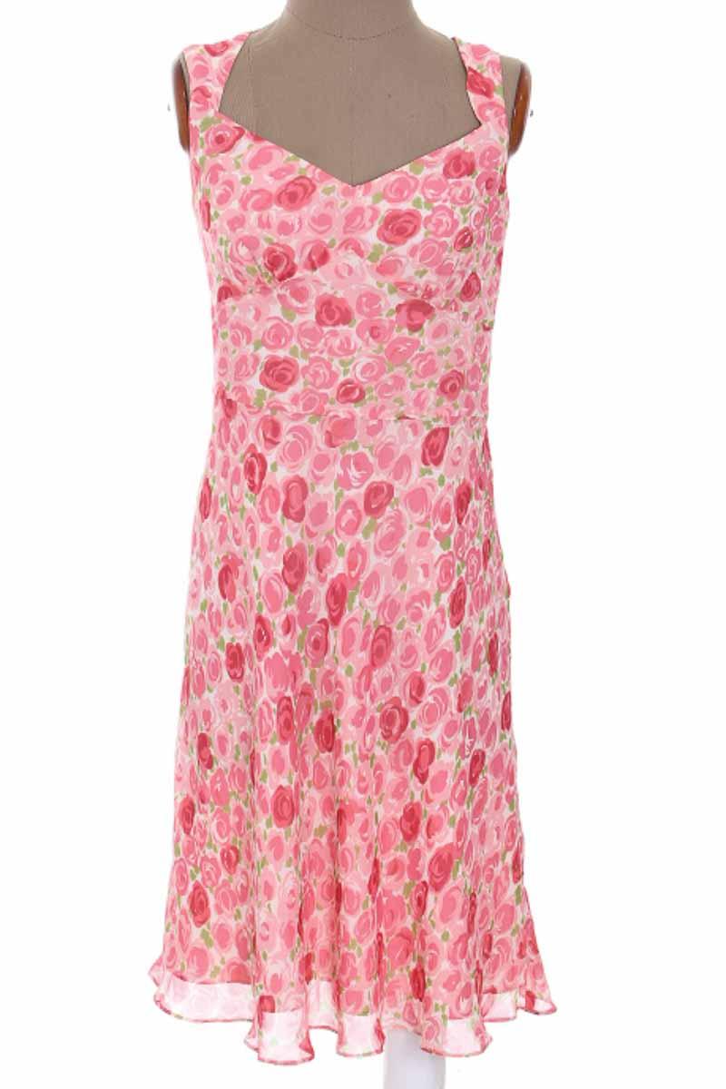 Vestido / Enterizo Casual color Rosado - Ann Taylor