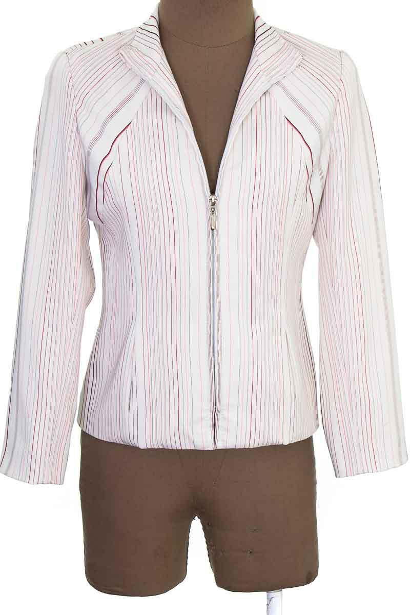 Chaqueta / Abrigo color Blanco - Diseño Frances