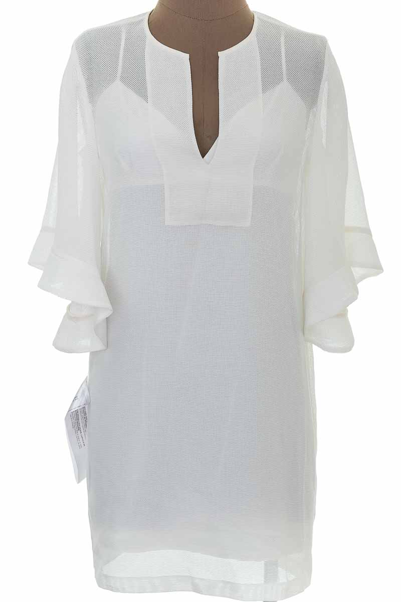 Vestido / Enterizo Casual color Blanco - BCBG