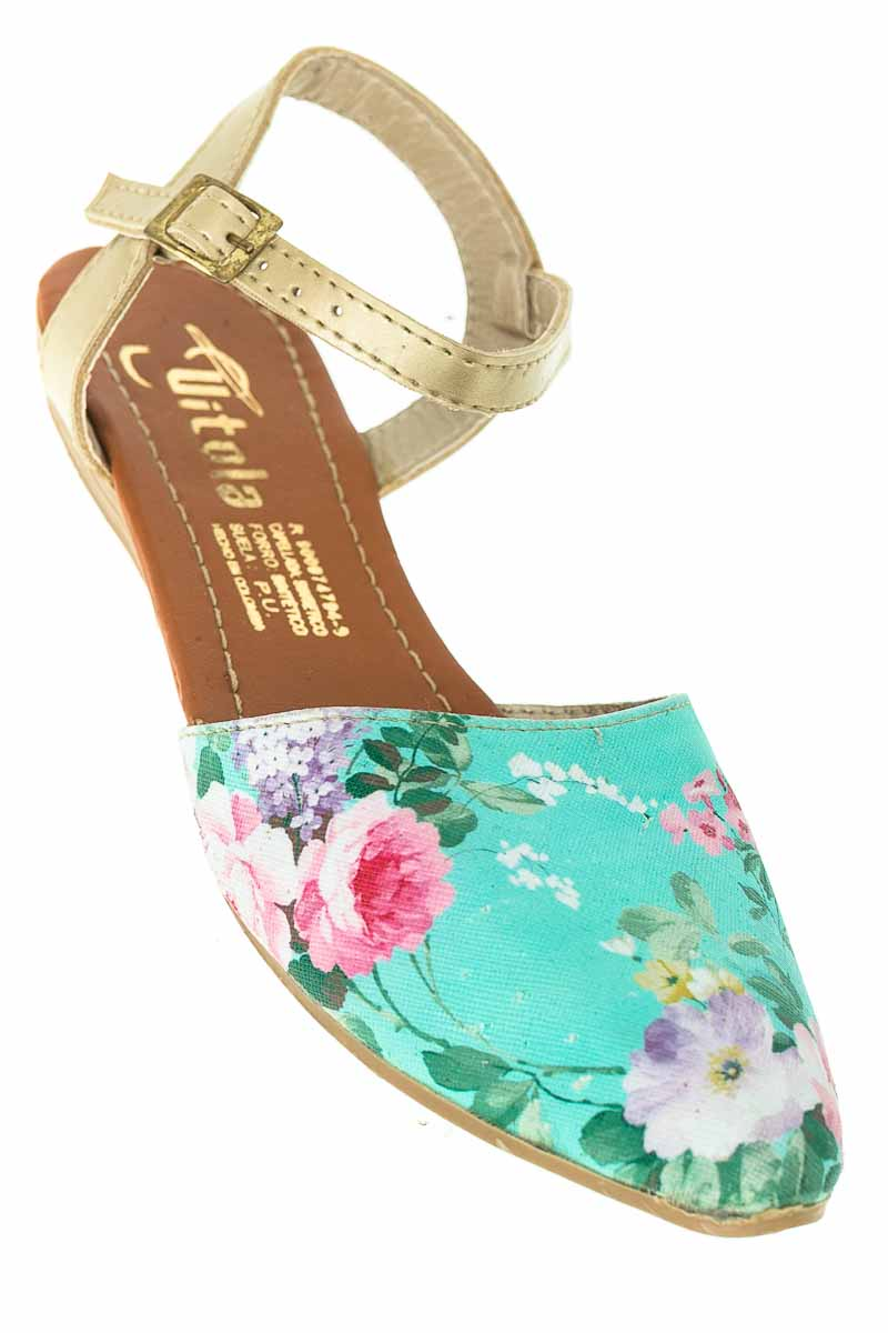 Zapatos color Aguamarina - Vitola