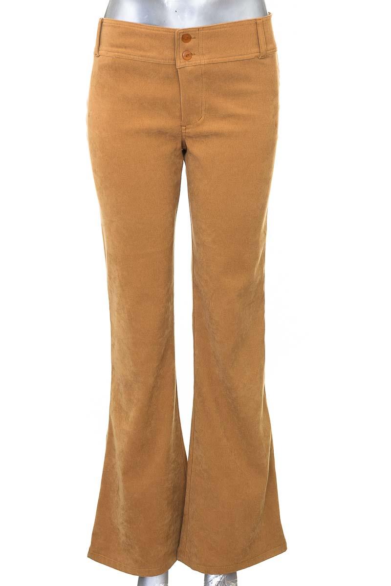 Pantalón Jeans color Café - Zara