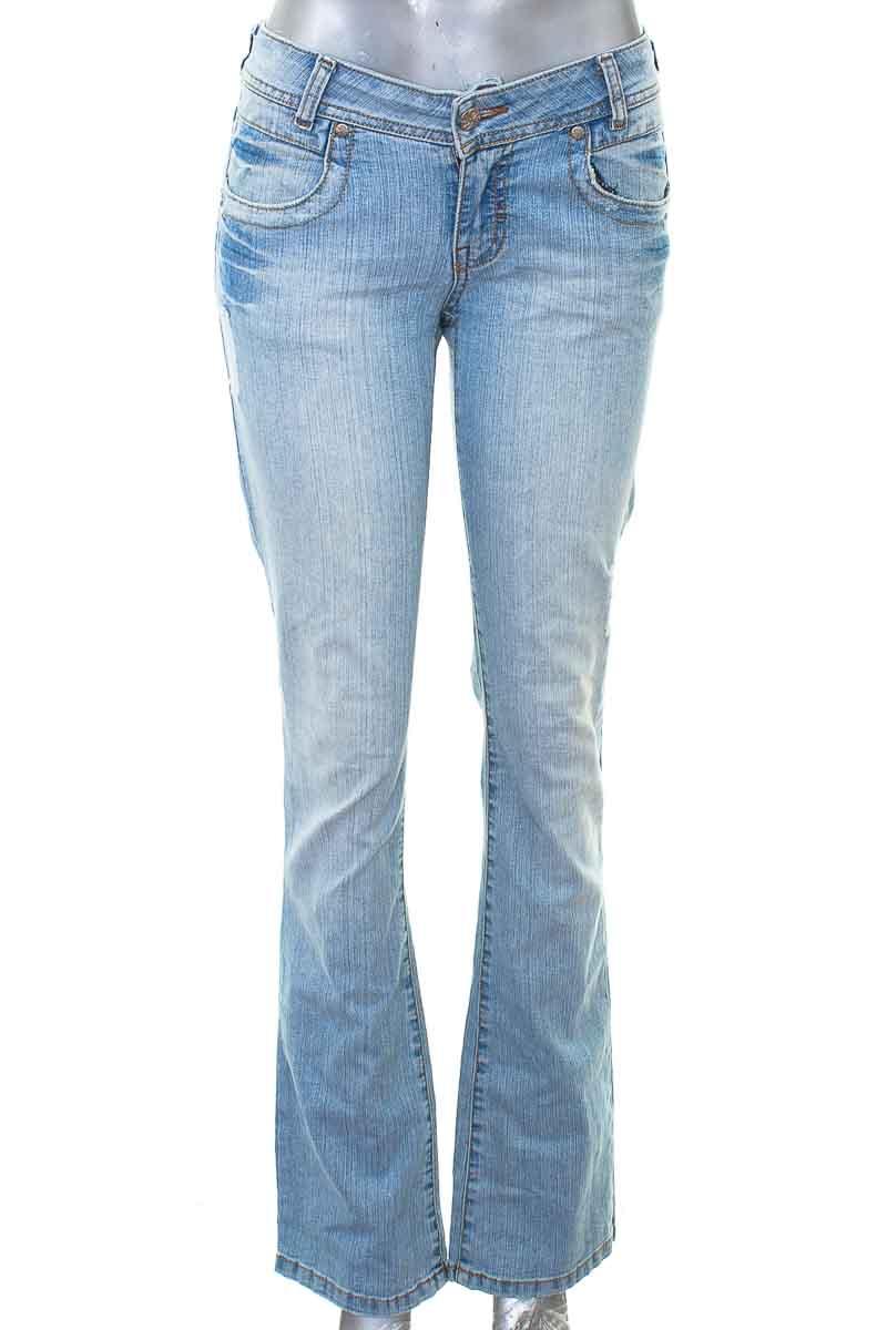 Pantalón Jeans color Azul - yaumique