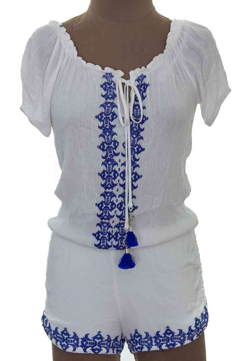 Vestido / Enterizo Casual color Blanco - ELA
