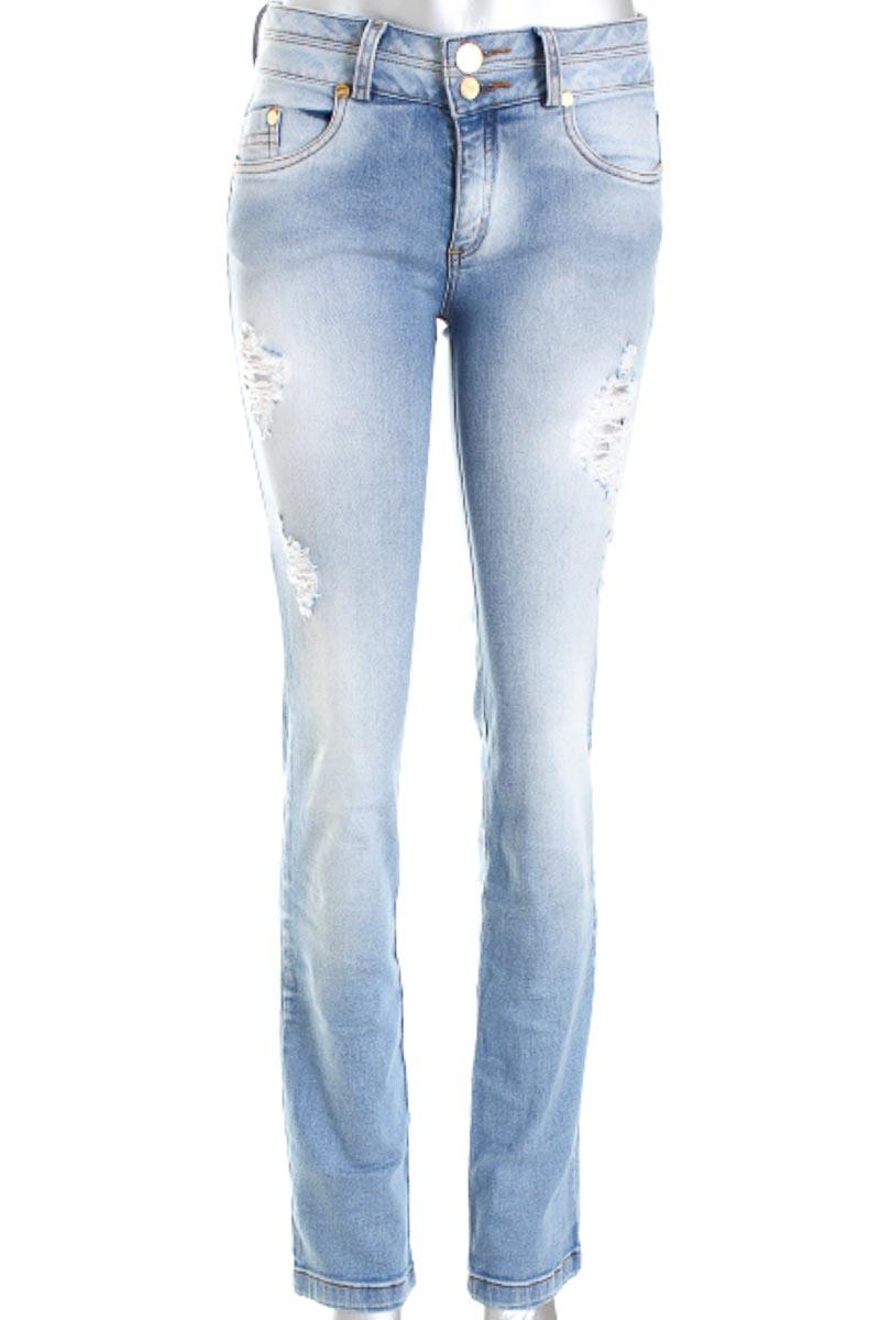 Pantalón Jeans color Azul - Ebba