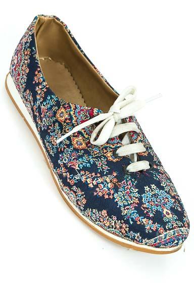 Zapatos Tenis color Azul - Closeando