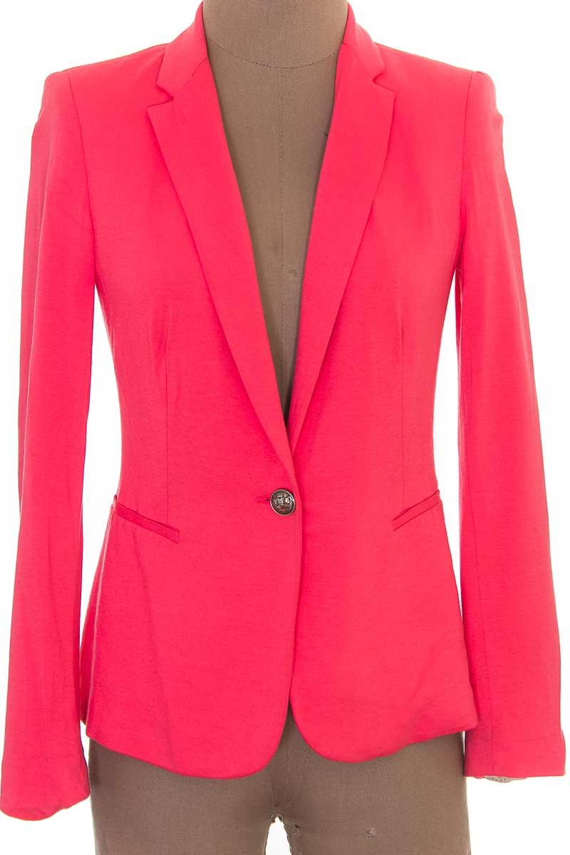 Chaqueta / Abrigo color Rosado - Zara