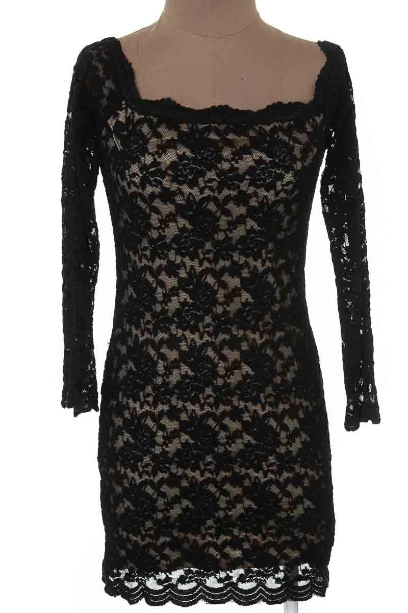 Vestido / Enterizo Fiesta color Negro - Shabby Chic