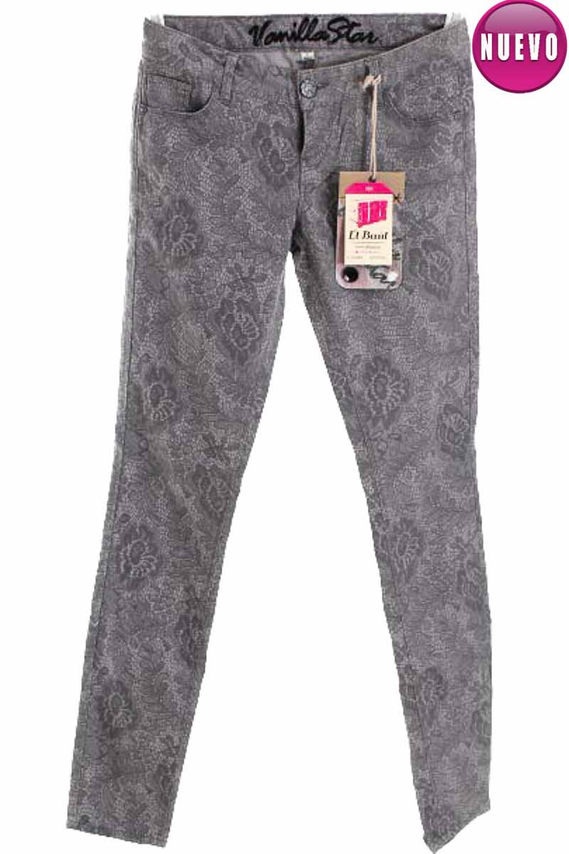 Pantalón Casual color Gris - Vanilla Star