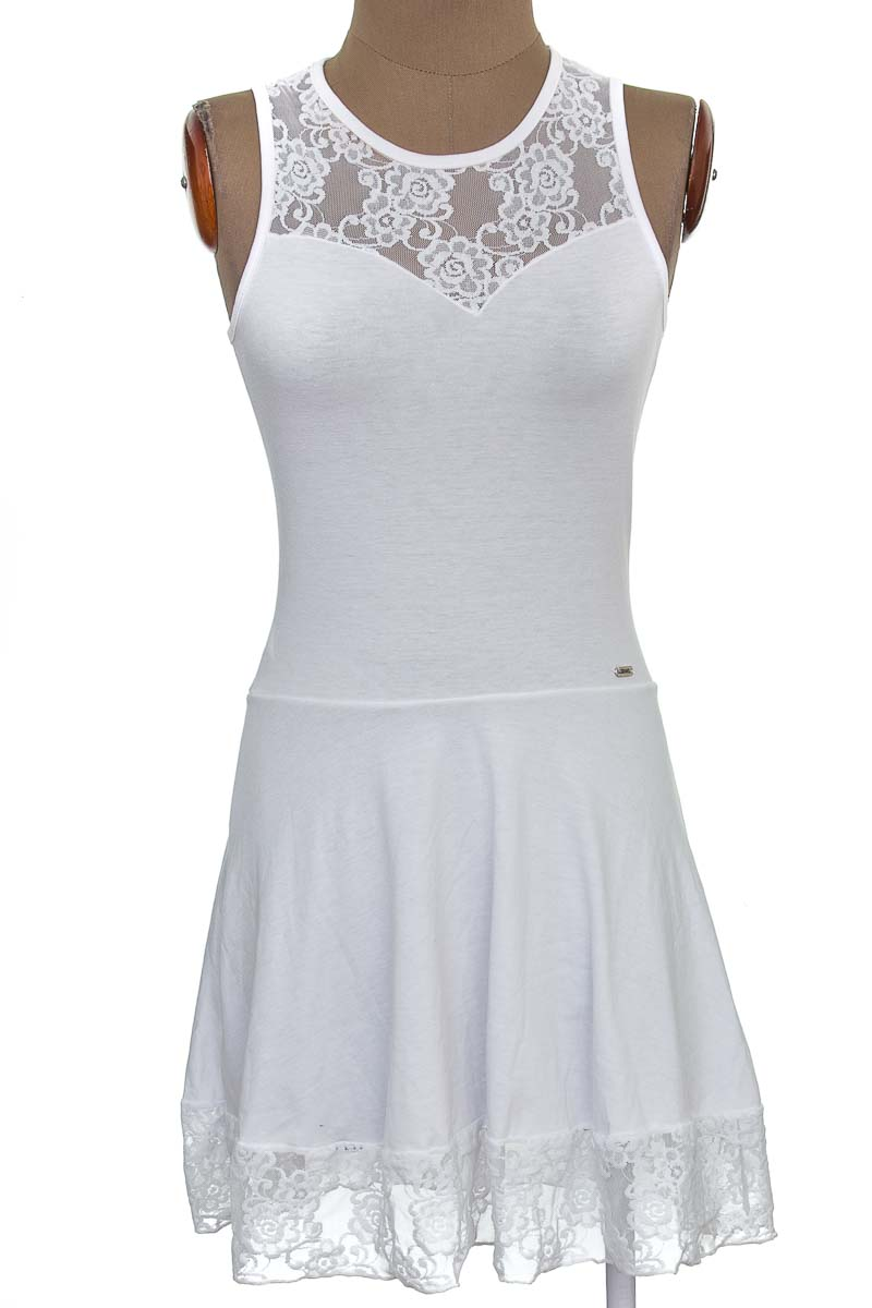 Vestido / Enterizo Casual color Blanco - Carmel