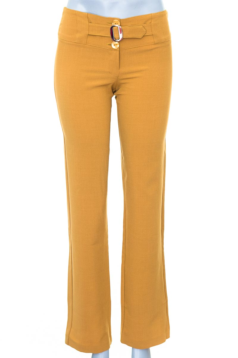 Pantalón Formal color Mostaza - Kalendar