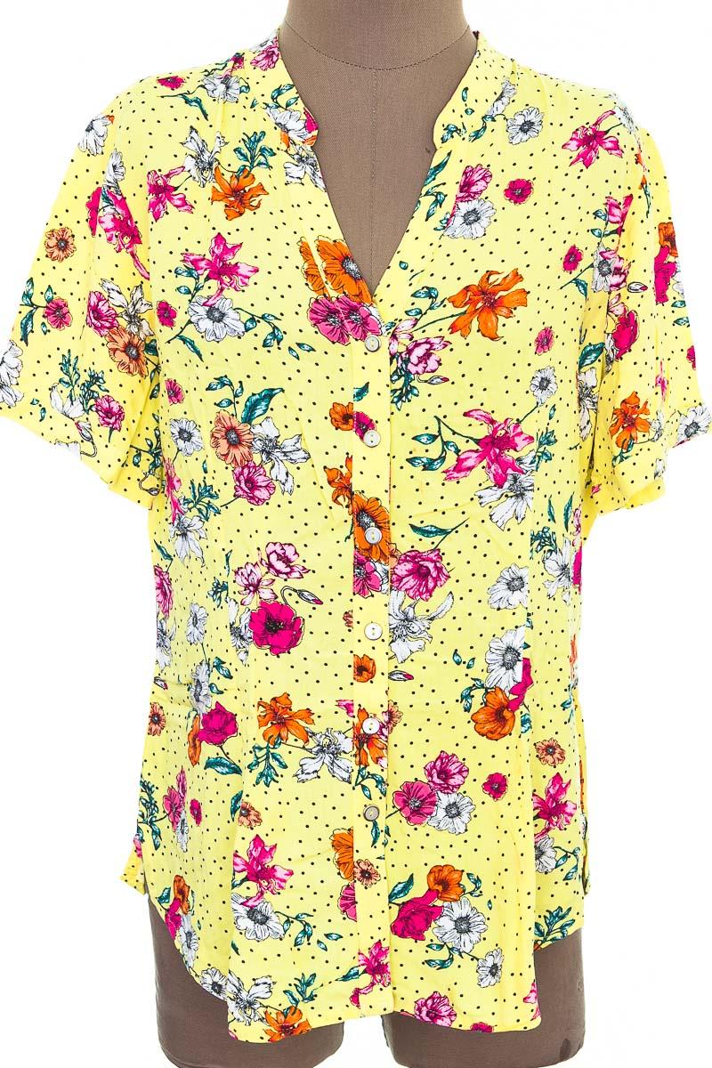 Blusa color Amarillo - SEXY PUNTO