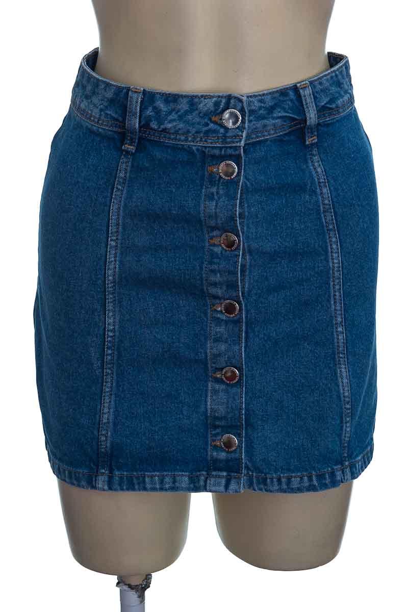 Falda color Azul - H&M