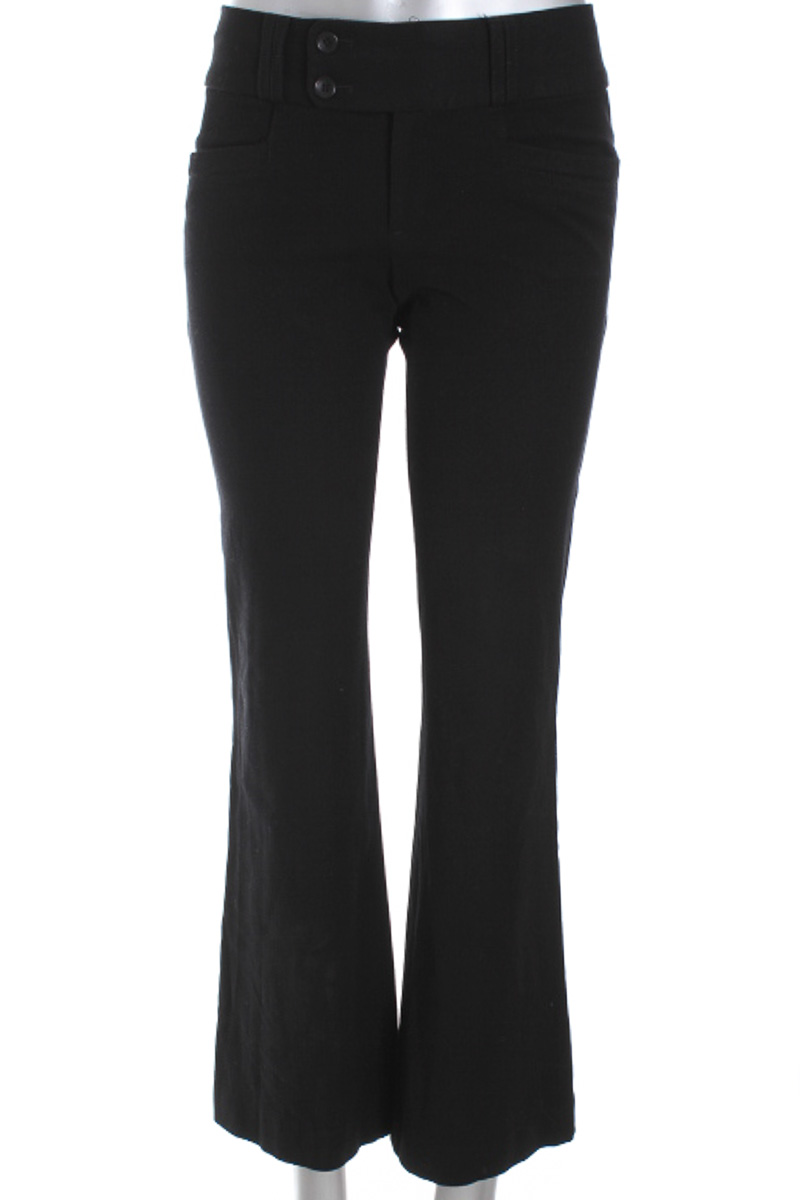 Pantalón Formal color Negro - Banana Republic