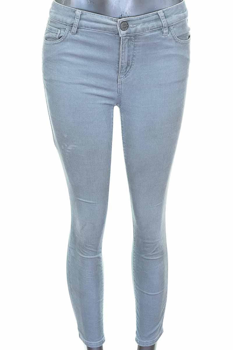 Pantalon Casual Color Gris Loft Closeando