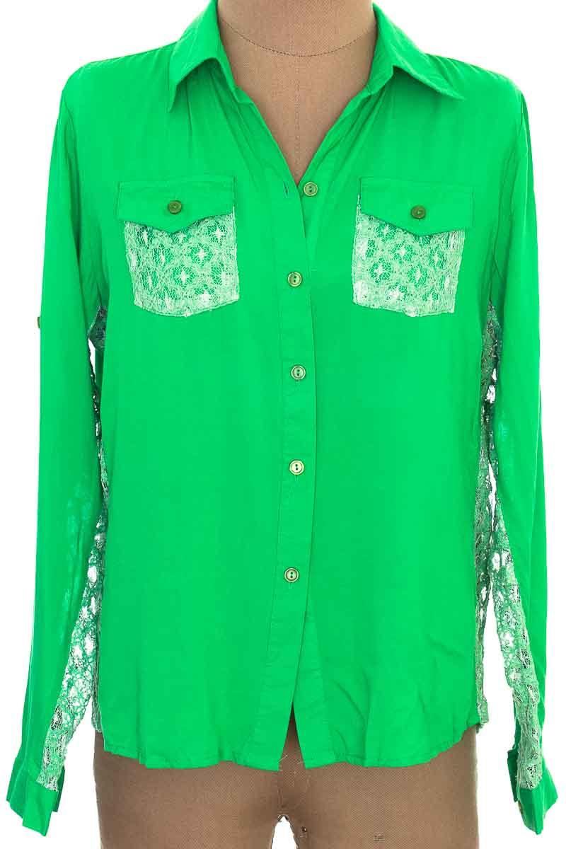 Blusa color Verde - TOPS