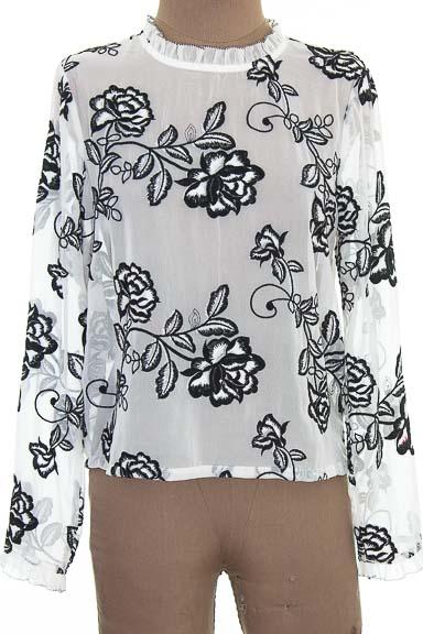 Blusa color Blanco - Endless Rose
