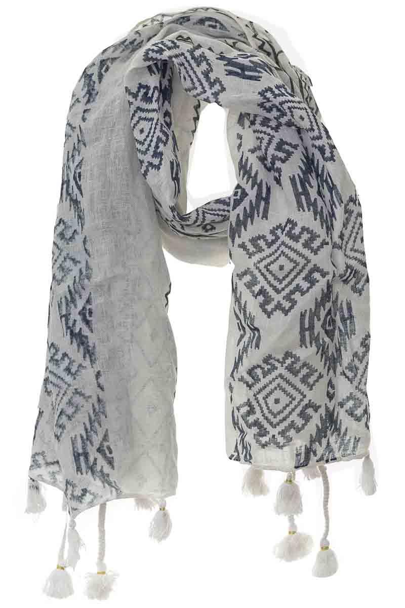 Accesorios Bufanda color Blanco - Azulu