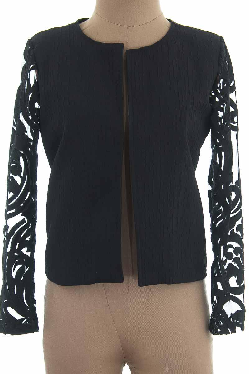 Chaqueta / Abrigo color Negro - Champlevé