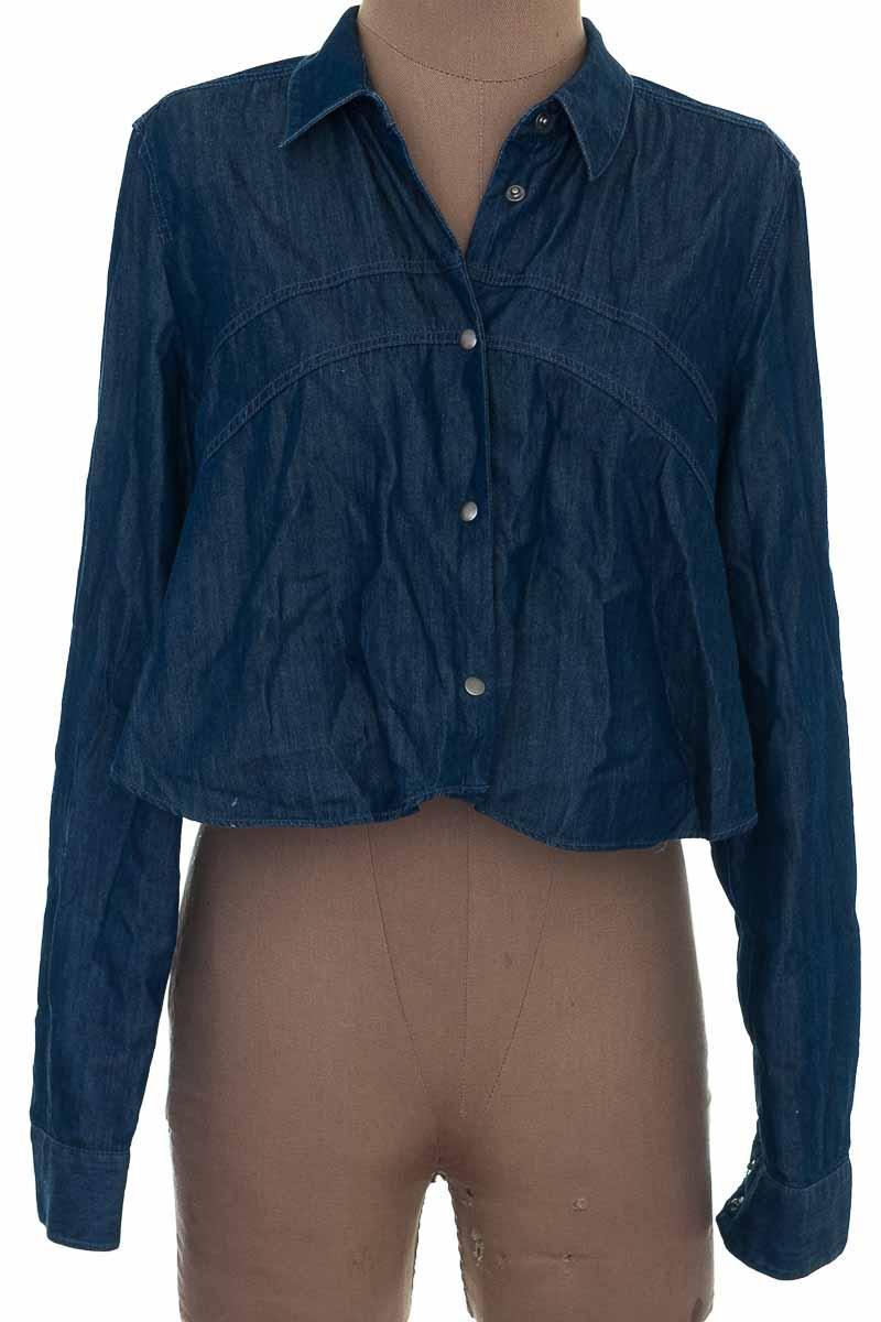 Blusa Casual color Azul - BCBG