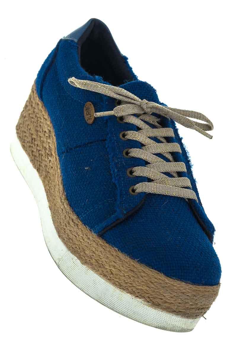 Zapatos color Azul - Solarte