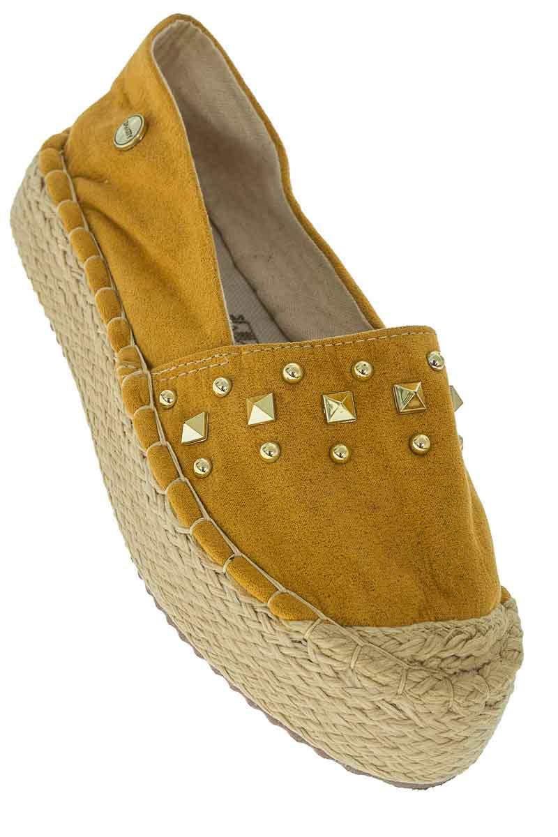 Zapatos color Mostaza - Zavatty