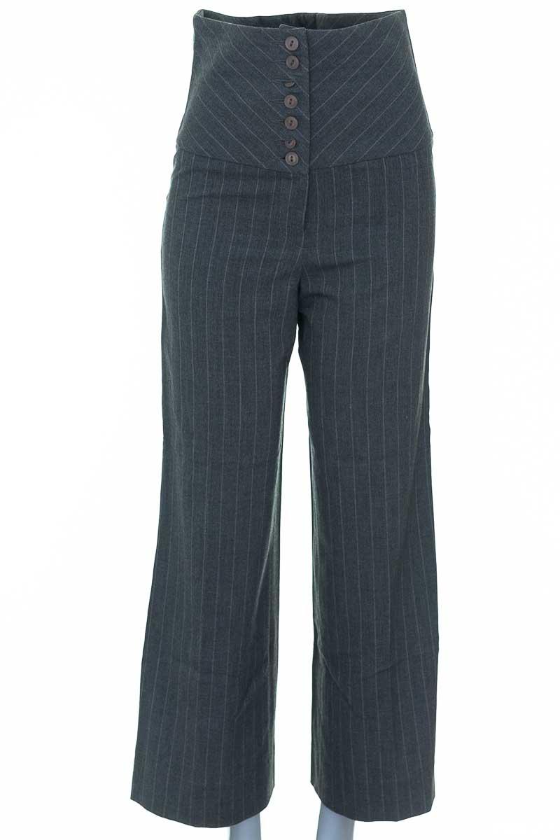 Pantalón color Gris - Diseño Frances