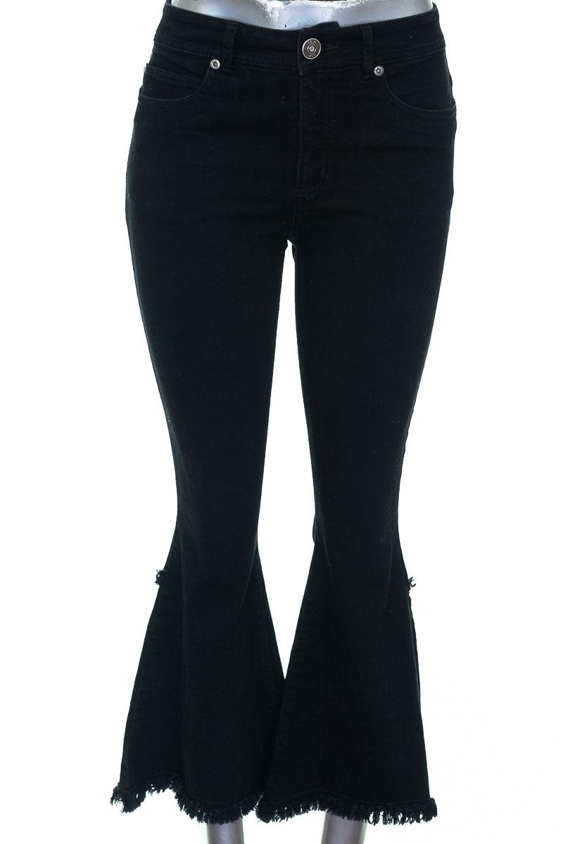 Pantalón Jeans color Negro - ELA