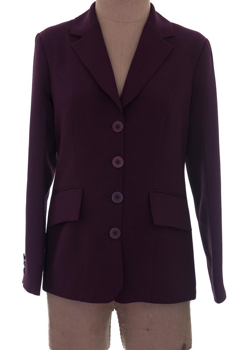 Chaqueta / Abrigo color Morado - Closeando