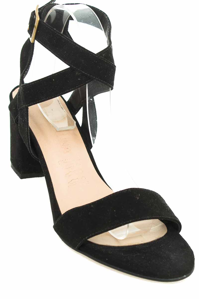 Zapatos Sandalia color Negro - Coralina
