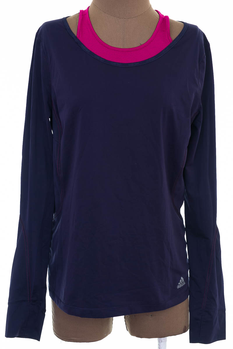 Ropa Deportiva / Salida de Baño Camiseta color Azul - Adidas