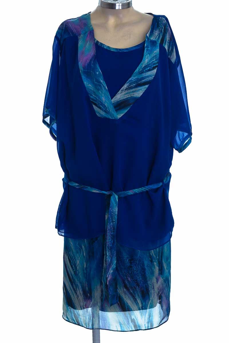 Vestido / Enterizo color Azul - Gina Ricci