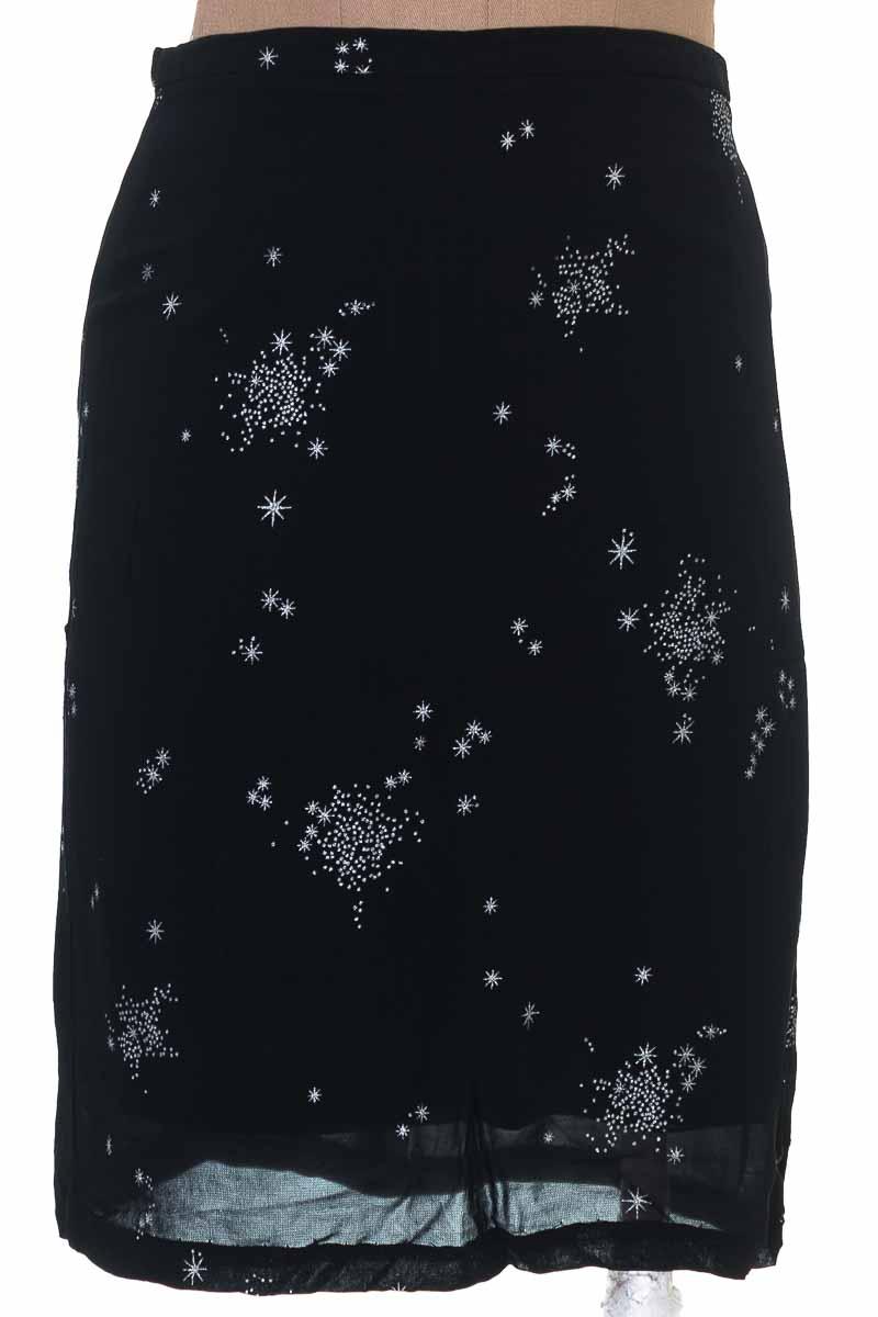 Falda Elegante color Negro - Caroll
