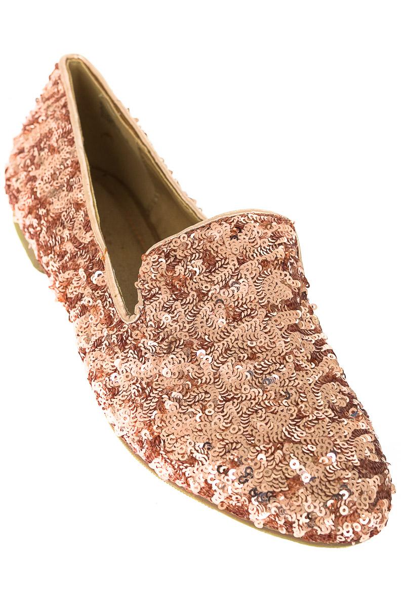 Zapatos Baleta color Dorado - Bamboo