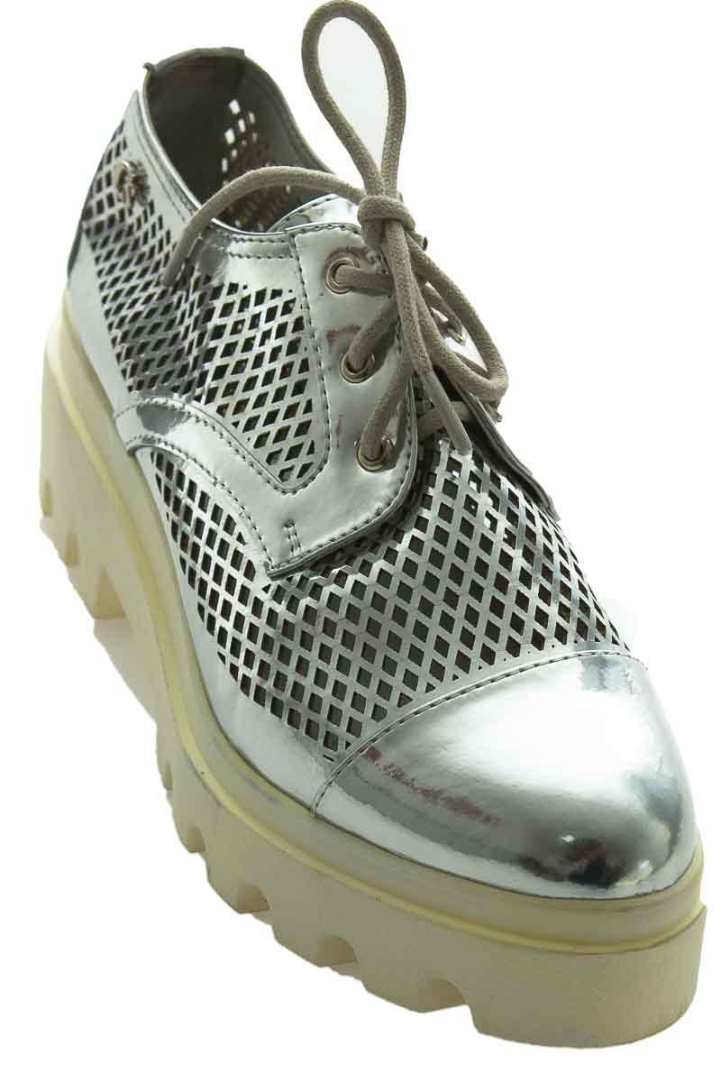 Zapatos color Plateado - Carmen Steffens
