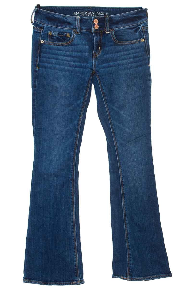 Pantalón color Azul - American Eagle