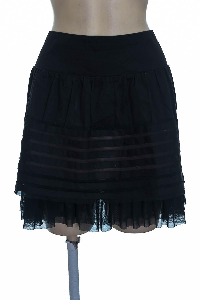 Falda color Negro - NAF NAF