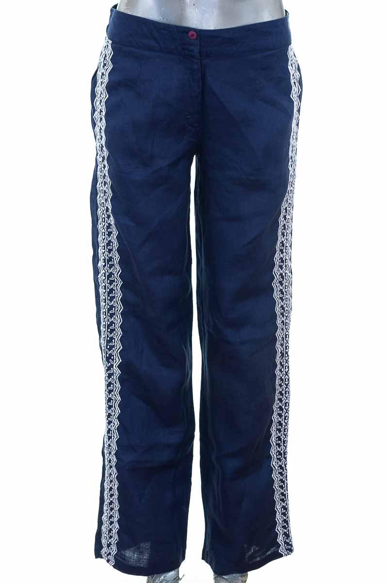 Pantalón Casual color Azul - Azulu
