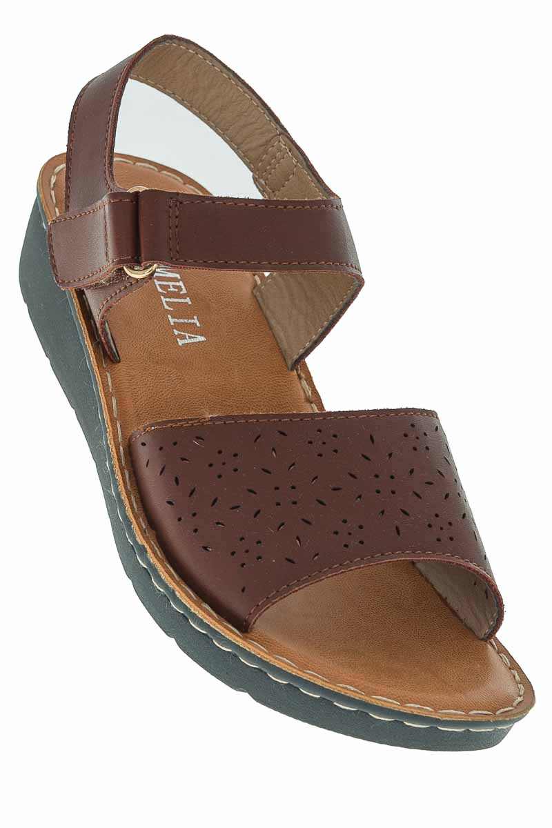 Zapatos Sandalia color Café - Camelia