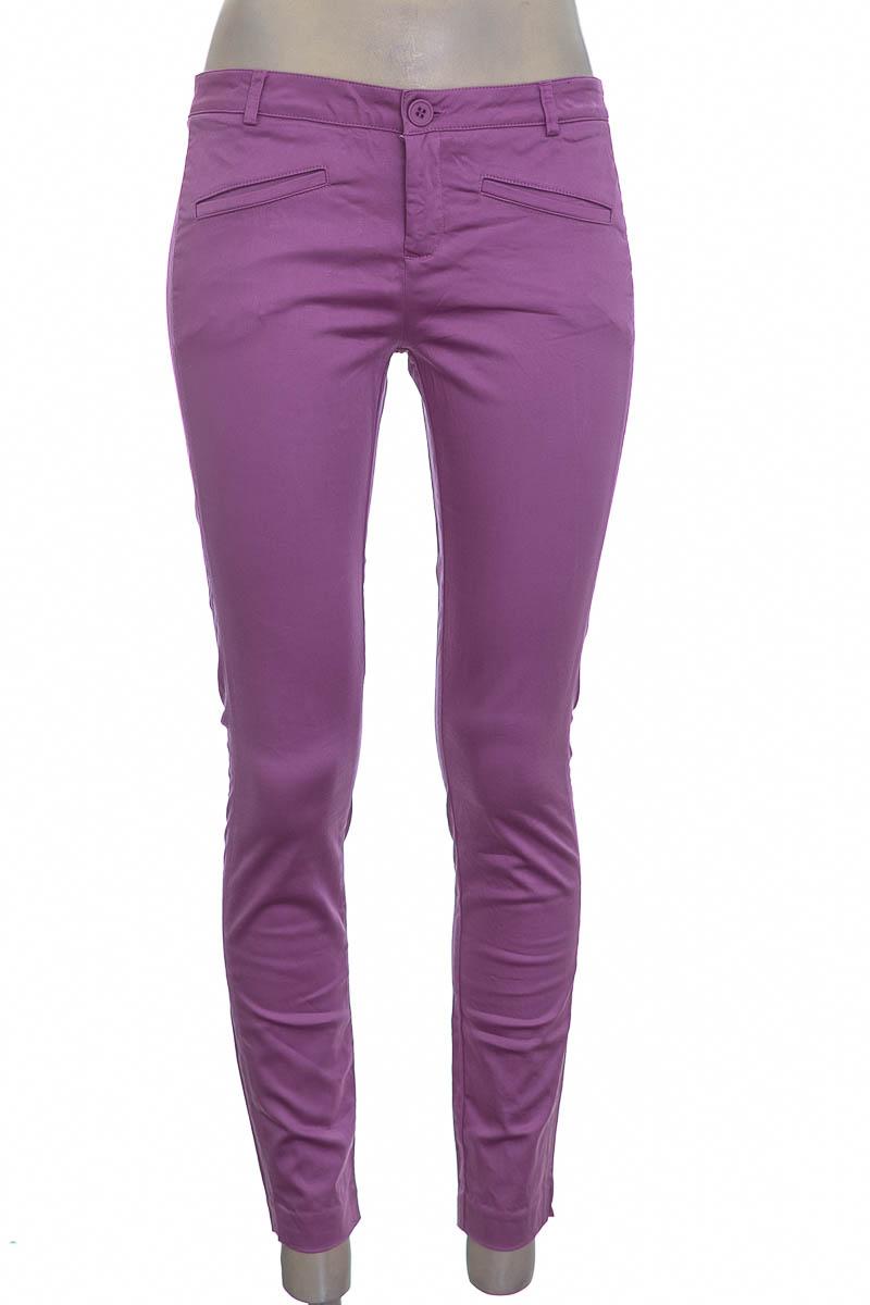 Pantalón color Lila - NAF NAF