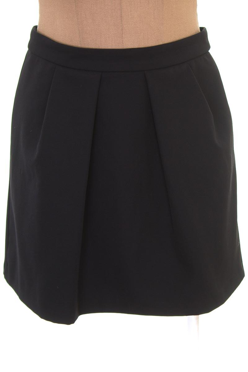 Falda Elegante color Negro - Bershka